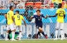 Nhật Bản là đội bóng châu Á đầu tiên làm được điều này tại World Cup