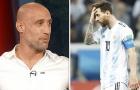 Hậu vệ Argentina tiết lộ SỐC về Messi