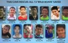 CỰC NÓNG! 12 cầu thủ và HLV đội bóng nhí Thái Lan đã được giải cứu