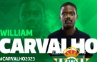CHÍNH THỨC! William Carvalho có bến đỗ mới ở La Liga
