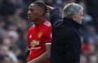 Vì sao Martial không được ra sân trận gặp Leicester?