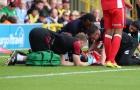 Sao Man Utd chấn thương đầu, nhập viện khẩn cấp