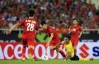 Fan Việt Nam đồng lòng chọn 'lá chắn thép' xuất sắc nhất trận Malaysia