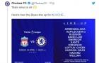 Nhìn đội hình ra sân, NHM Chelsea quên cả Higuain lẫn Giroud