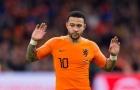 Depay chấn thương, không thể ra sân cho Hà Lan
