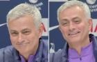 Bị 'xoáy' về tuyên bố nói không với Tottenham, Mourinho trả lời 1 câu làm tất cả bật cười