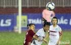 Mưa to ảnh hưởng đến kết quả vòng 9 bóng đá nữ VĐQG 2016