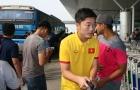 Đội tuyển Việt Nam sát giờ mới có mặt ở sân bay