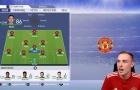 Youtuber kỳ công mang Ronaldo và Messi về M.U trong FIFA 19