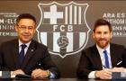 Lionel Messi có thể kí hợp đồng trọn đời với Barca mùa giải tới