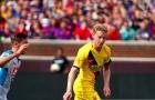 CĐV Barca: 'Frenkie de Jong đã thực hiện một đường chuyền 'Cruyff' cho Dembele'