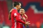 Zlatan chửi thề khi nhìn vào thống kê của Lingard và Pereira