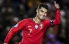 Top 10 vua phá lưới tuyển Bồ Đào Nha: CR7 ghi bàn gấp đôi người đứng sau