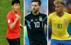 Đội hình tiêu biểu lượt đấu thứ 3 World Cup 2018