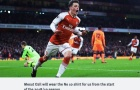 CHÍNH THỨC: Áo số 10 của Arsenal đã có chủ