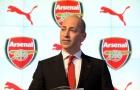 NÓNG: Milan tính 'rút ruột' thượng tầng của Arsenal