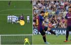 Mục tiêu MU 'chơi chiêu' vẫn không ngăn được Messi lập siêu phẩm