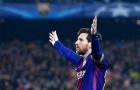 Messi là cầu thủ thứ 2 làm được điều này ở Champions League