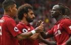 Thống kê ấn tượng của hàng công Liverpool trước Arsenal trên sân Anfield
