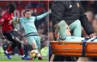 Arsenal tổn thất nghiêm trọng sau trận hòa Man Utd