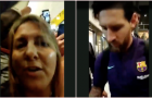 Messi bị chửi bới vì từ chối kí tặng áo cho fan nữ