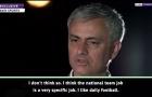 XONG! Mourinho xác nhận điểm đến tiếp theo