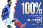 Sốc! 'Mục tiêu' của Man Utd tạo ra thống kê khó tin trận Pháp 4-0 Iceland