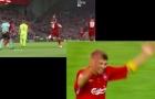 'Steven Gerrard' đã xuất hiện trên sân khi Liverpool đả bại Barca!