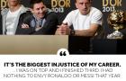 'Đó là sự bất công lớn nhất trong sự nghiệp của tôi'