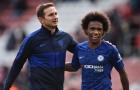 Cán mốc 300 trận cùng Chelsea, Willian trải lòng về Lampard và EPL