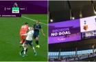 SỐC! VAR nói không, trọng tài vẫn cho Tottenham bàn thắng