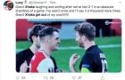 Xhaka cười cợt sau trận, NHM Arsenal cay cú 'đuổi thẳng cổ'