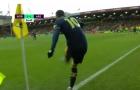 'Bạn có thể thấy Ozil đi thẳng về phía CĐV Norwich'