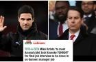 'Casting' lần cuối với sếp lớn, Arteta tái hợp Arsenal