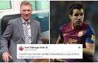 'Tôi đã nói chuyện với huấn luyện viên của Man Utd'