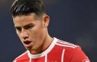 Khó cho James Rodriguez, Bayern và Jorge Mendes đứng ở 2 lập trường