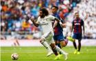 Chấm điểm Real sau trận Levante: Thảm họa số 7 trên hàng công