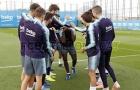 Dàn sao Barca lấy lại niềm vui nhờ sinh nhật đồng đội