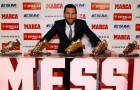 Messi hạnh phúc hết nấc ngày thiết lập kỷ lục lịch sử