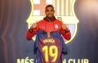 Tân binh thứ 2 rạng ngời cập bến Camp Nou