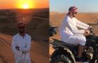 Sao Lazio hóa 'hoàng tử Hồi giáo' chinh phục sa mạc