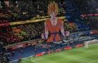 Fan PSG lấy Son Goku hù dọa Marseille