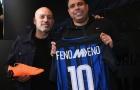 Rô béo tươi rói đi ăn sinh nhật của Inter
