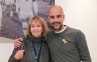 Vợ của 'thánh' Johan tiếp sức cho Guardiola tại Manchester