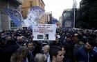CĐV Lazio bao vây trụ sở FIGC phản đối công nghệ VAR