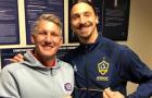 LA Galaxy chiến thắng, Ibra 'quàng vai bá cổ' đối thủ Schweinsteiger