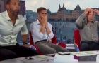 Khoảnh khắc Fabregas suy sụp khi Tây Ban Nha thua đau chủ nhà