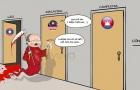 Thầy Park hoá 'thần chết', tuyển Việt Nam thành 'siêu anh hùng' hù Malaysia