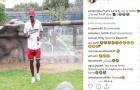 Du hí Dubai, Pogba đại thắng marathon với... rùa