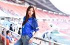Danh tính hotgirl cổ vũ nhiệt tình đội tuyển Thái Lan